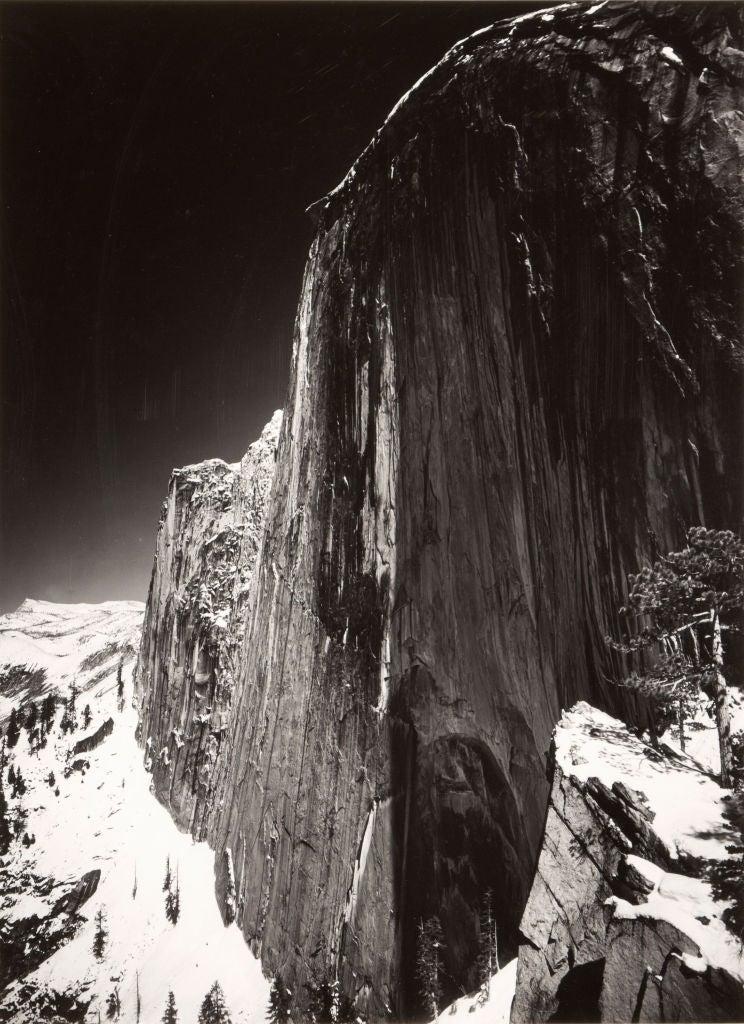 Ansel Adams Monolith The Face Of Half Dome Photograph