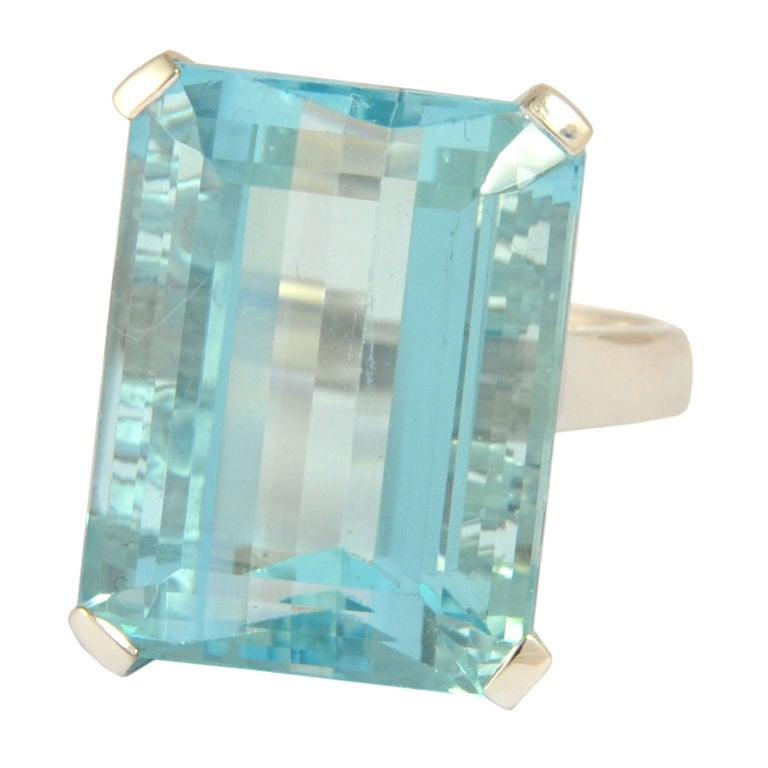 Diamond Aquamarine Cut Cushion Rose Halo Gold