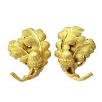 Buccellati Gold Acorn Earrings at 1stdibs