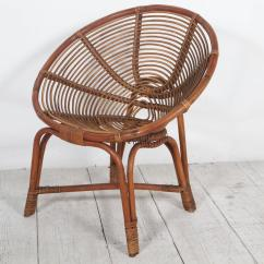 Round Bamboo Chair Wooden Lawn Aj Chairs