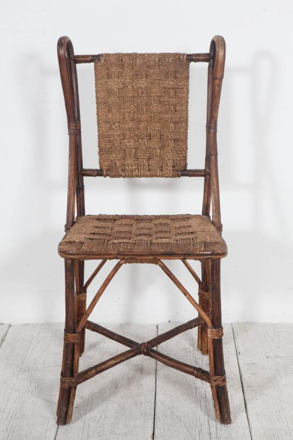Antique Wicker Dining Room Chairs
