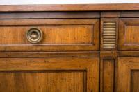 Mid-Century Baker Furniture Solid Ash Four-Door Credenza ...