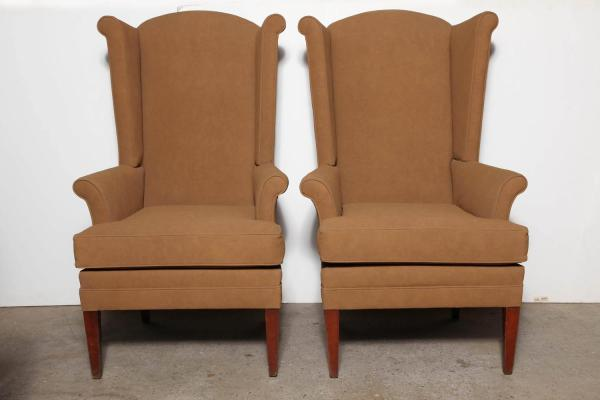Tall Wing Back Dining Chairs