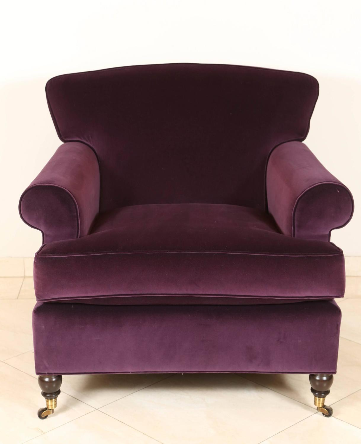 french club chairs for sale positions on a chair purple mohair lounge at 1stdibs