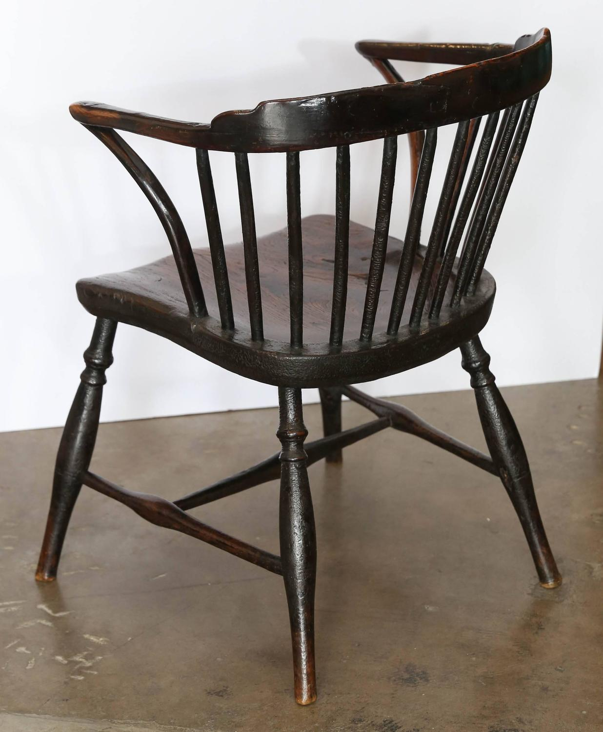 antique windsor chair identification round occasional chairs 19th century for sale at 1stdibs