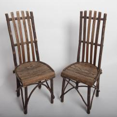 Hickory Chairs For Sale Mission Chair Recliner Antique Adirondack Old Table And