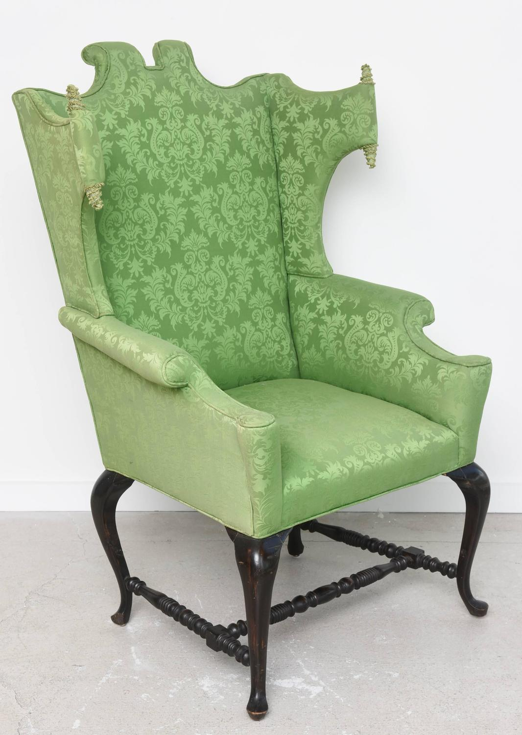 queen anne style chairs office chair home whimsical at 1stdibs