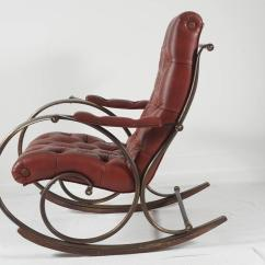Midcentury Rocking Chair Restaurant Chairs Used Mid Century Lee Woodard Rocker At 1stdibs