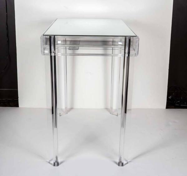 Hollywood Lucite Vanity Table 1stdibs