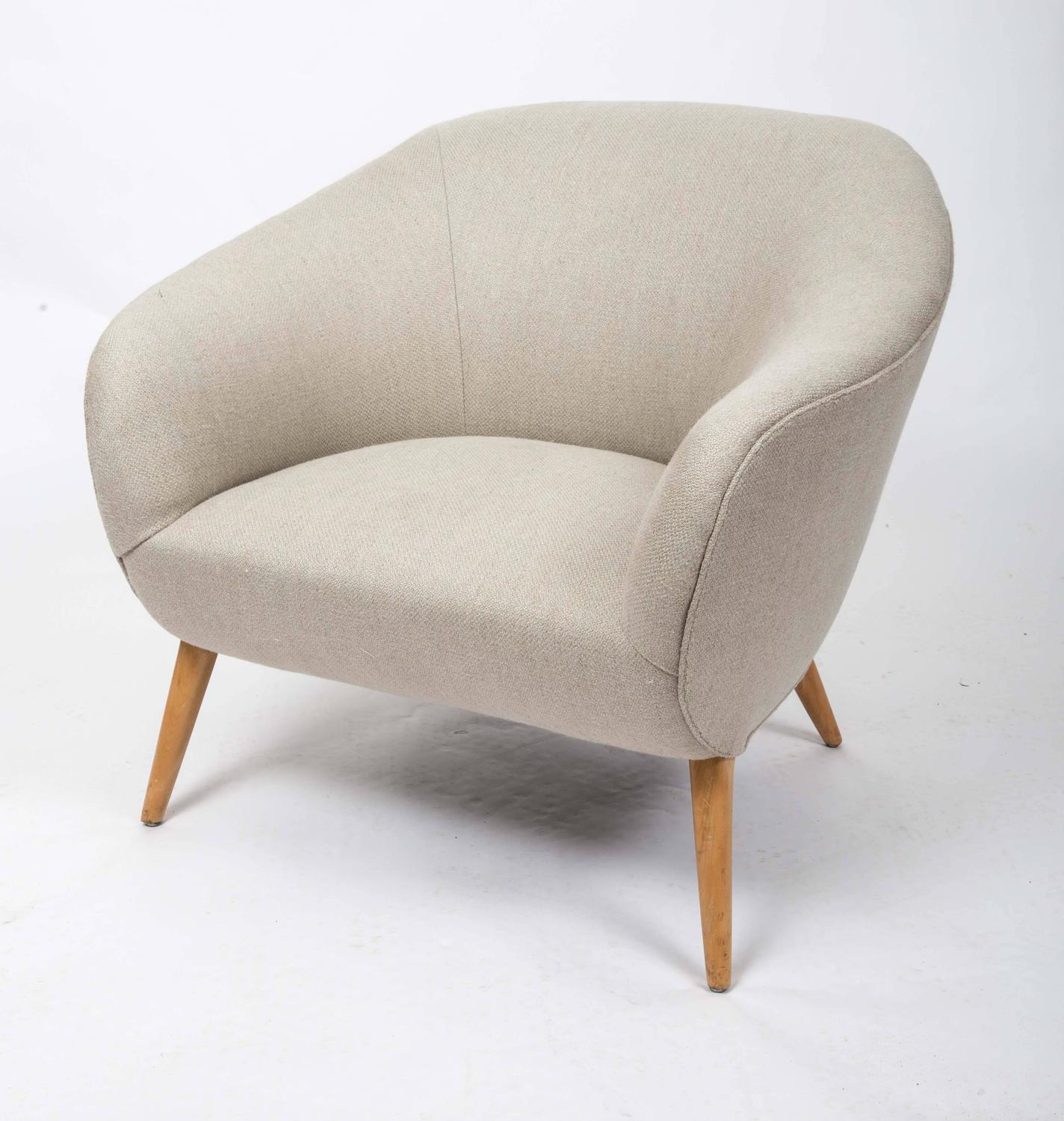 tub chair covers for sale black tufted mid century at 1stdibs
