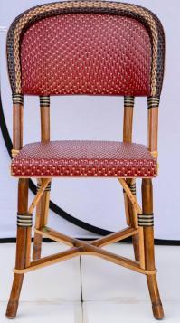 Fantastic Set of Four Maison Drucker Bastille Bamboo ...