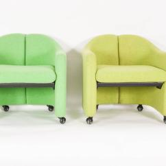 Serie 142 Chair Kiosk Design Target Accent Set Of Four Easy Chairs Series By Eugenio Gerli For
