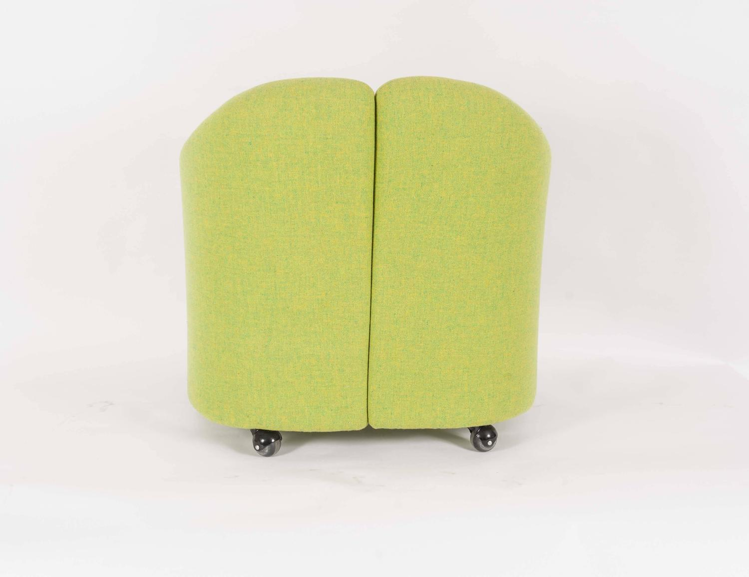 serie 142 chair kiosk design butterfly replacement covers australia set of four easy chairs series by eugenio gerli for