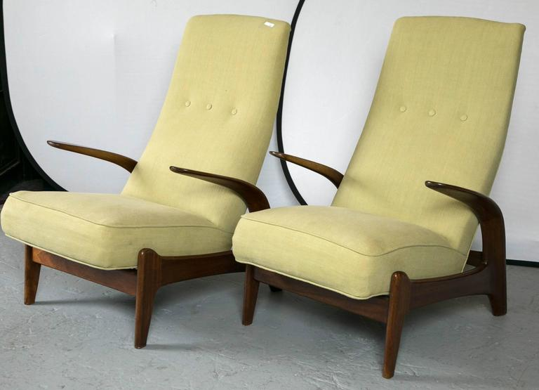 Pair Of Gimson And Slater Rock N Rest Chairs At 1stdibs