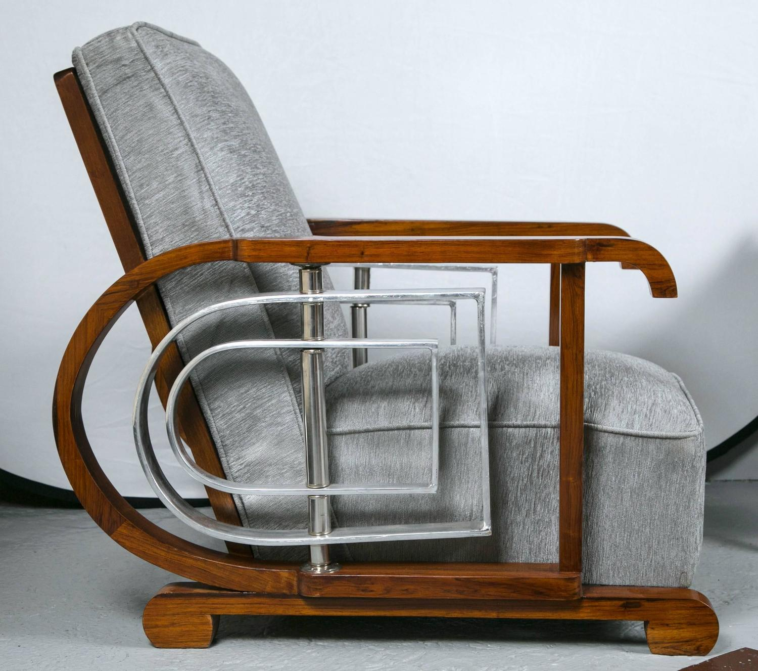 movie chairs for sale lego table and pair of mid century modern art deco style lounge theater