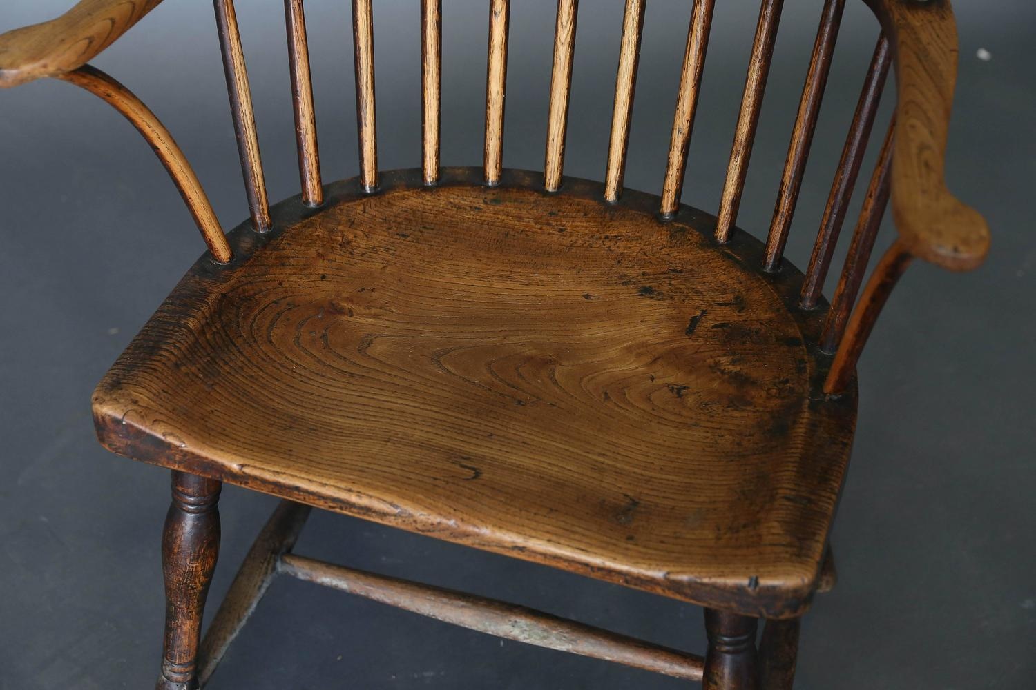 antique windsor chair identification posture chairs for home 18th century ash and elm sale at