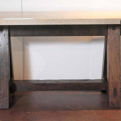 Horse Sofa Table Custom Sofas For Less Rohnert Park Antique Dark Pine French Saw Entry Tables Sale
