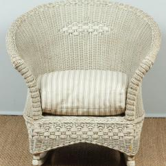 Antique Wicker Chairs Pier 1 Imports Dining Chair And Rocker For Sale At 1stdibs
