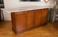 Mid-Century Milo Baughman for Directional Marble-Top ...