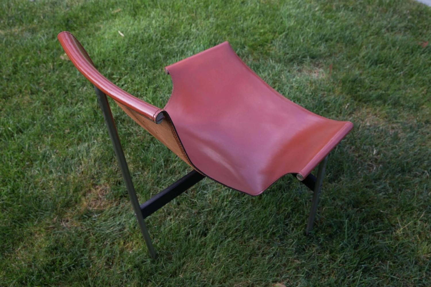 sling chairs for sale oversized lawn chair menards katavolos leather quott quot at 1stdibs