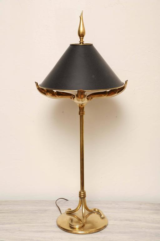 Vintage Chapman Brass Table Lamp at 1stdibs