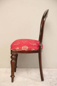 Set of Six Regency Style Dining Room Chairs, Mahogany with ...