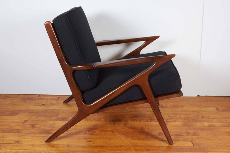 folding z chair covers by hana poul jensen danish modern for selig at 1stdibs scandinavian sale
