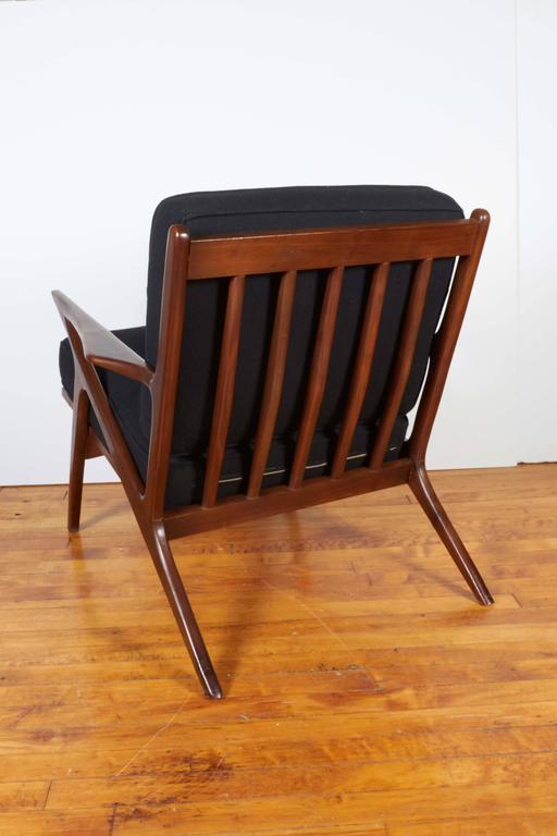 Poul Jensen Danish Modern Z Chair for Selig at 1stdibs