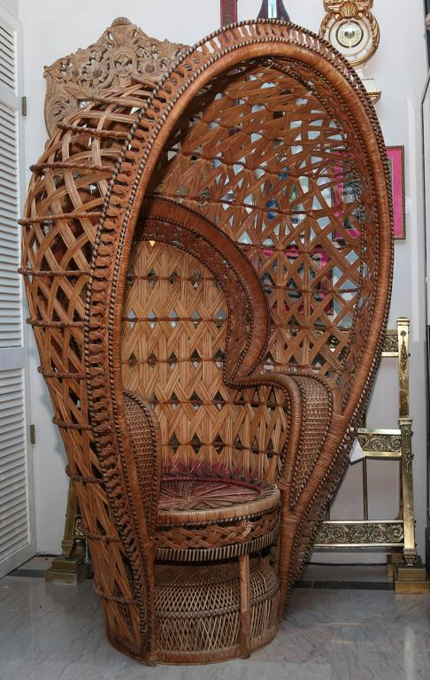 Quintessential Anglo Indian Quot Peacock Quot Chair For Sale At 1stdibs