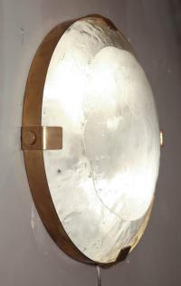 Vintage Murano Glass Flush Mount Light Fixture at 1stdibs