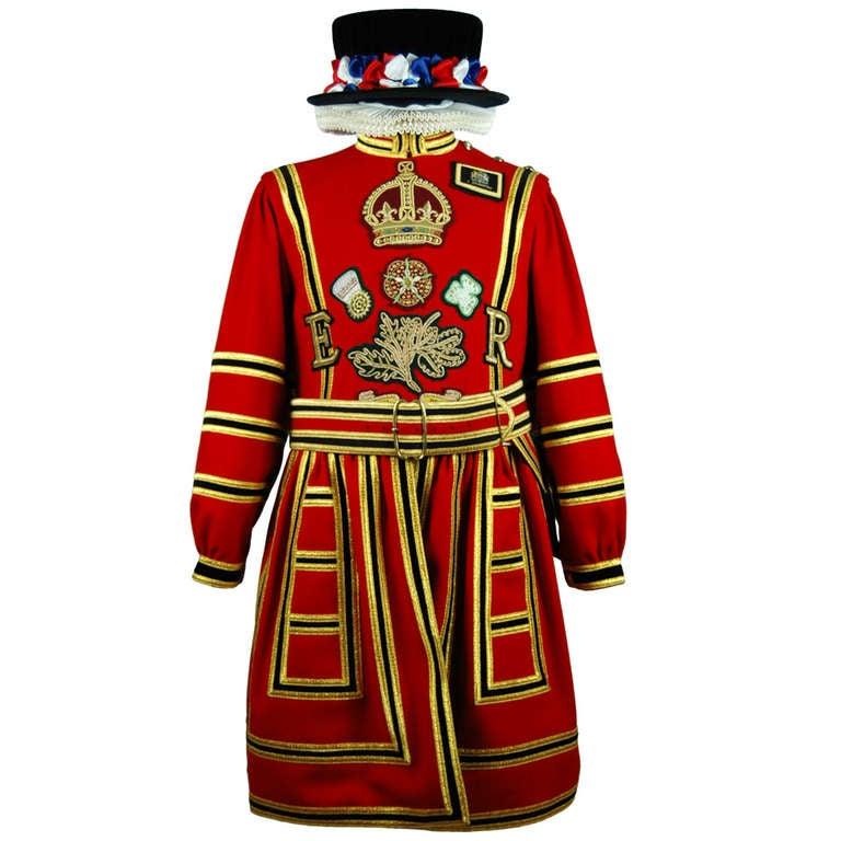 Elizabeth II Era State Uniform of a Yeomen Warder or