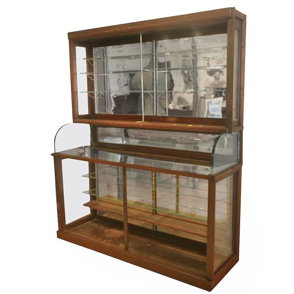 Apothecary Shelf with Mirror