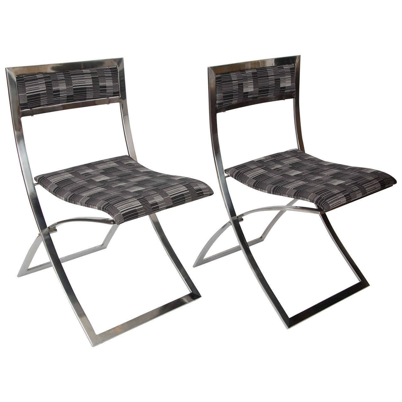Foldable Dining Chairs Set Of Eight Stainless Steel Folding Dining Chairs Quotluisa