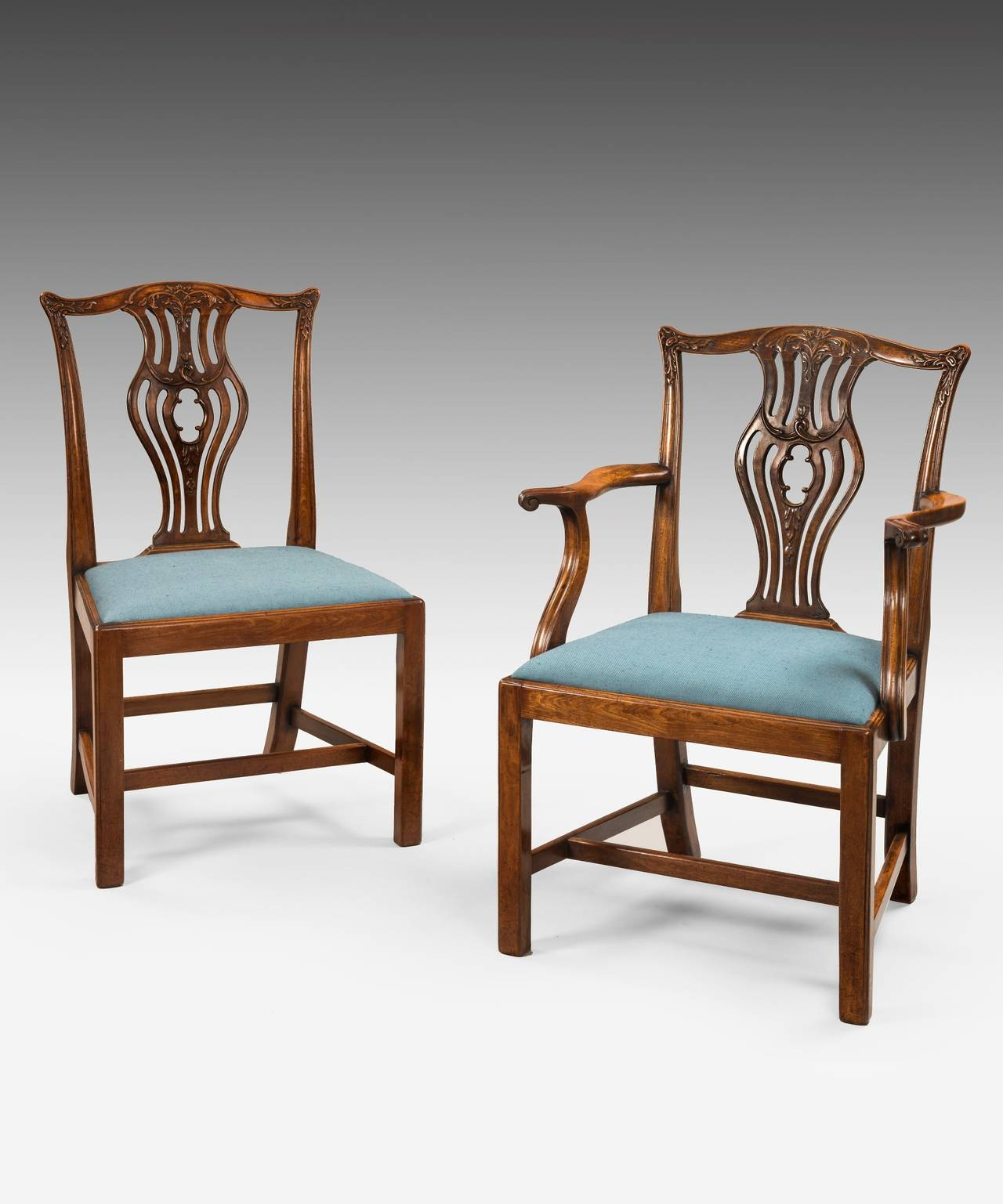 chippendale dining chair folding online flipkart set of eight chairs for sale at 1stdibs