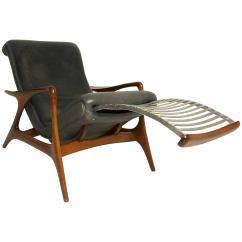 Correct Posture Lounge Chair Folding Foam Bed Canada Very Rare Vladimir Kagan Multi Position Reclining