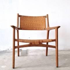 Cane Easy Chair Countertop Height Kitchen Chairs Hans J Wegner For Johannes Hansen Teak