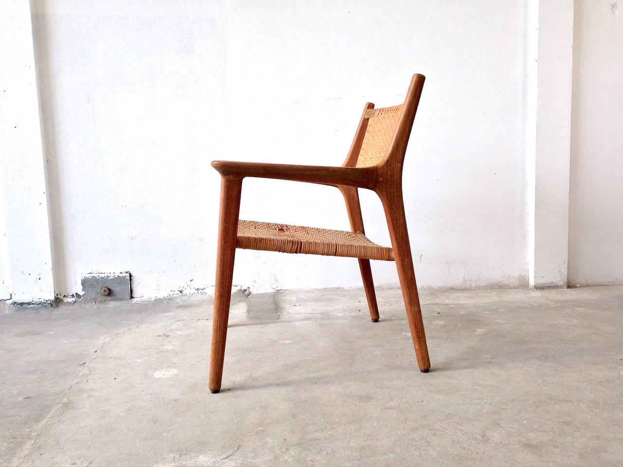 cane easy chair director covers spotlight hans j wegner for johannes hansen teak