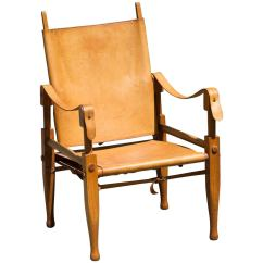 Leather Safari Chair Wedding Covers Navy Blue By Wilhelm Kienzle At 1stdibs