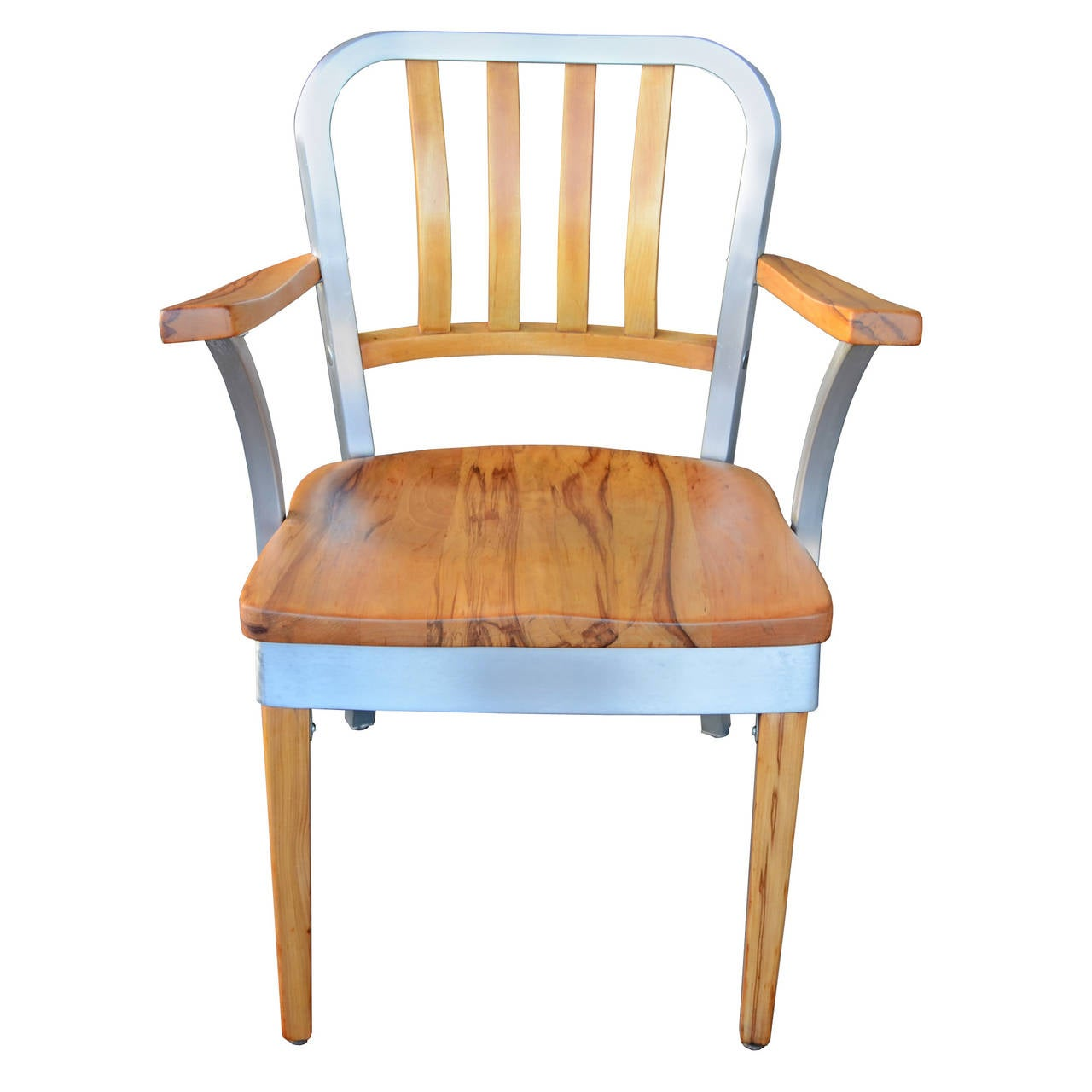 shaw walker chair hanging egg ikea beautifully restored maple and aluminum office