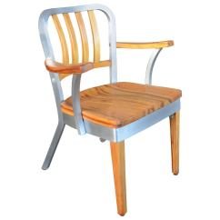 Shaw Walker Chair Wicker Circle Beautifully Restored Maple And Aluminum Office