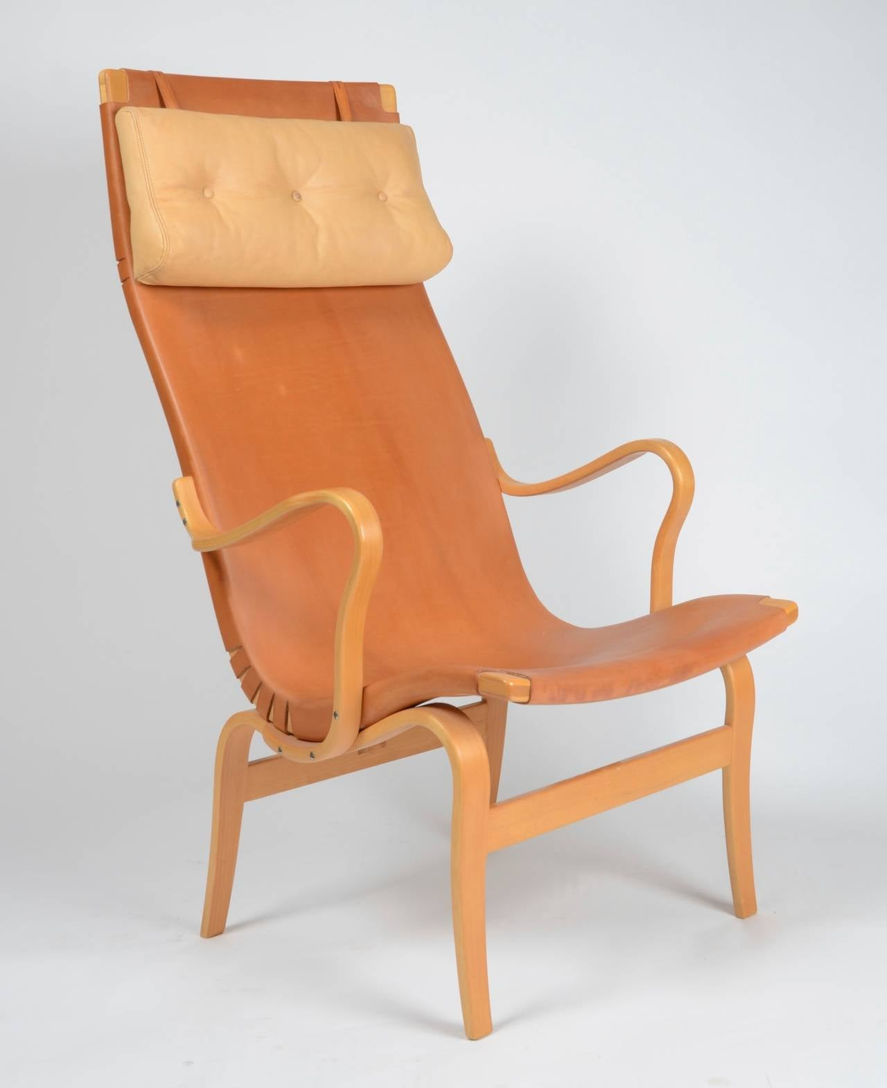 swedish high chair glider and ottoman slipcovers back eva by bruno mathsson for karl