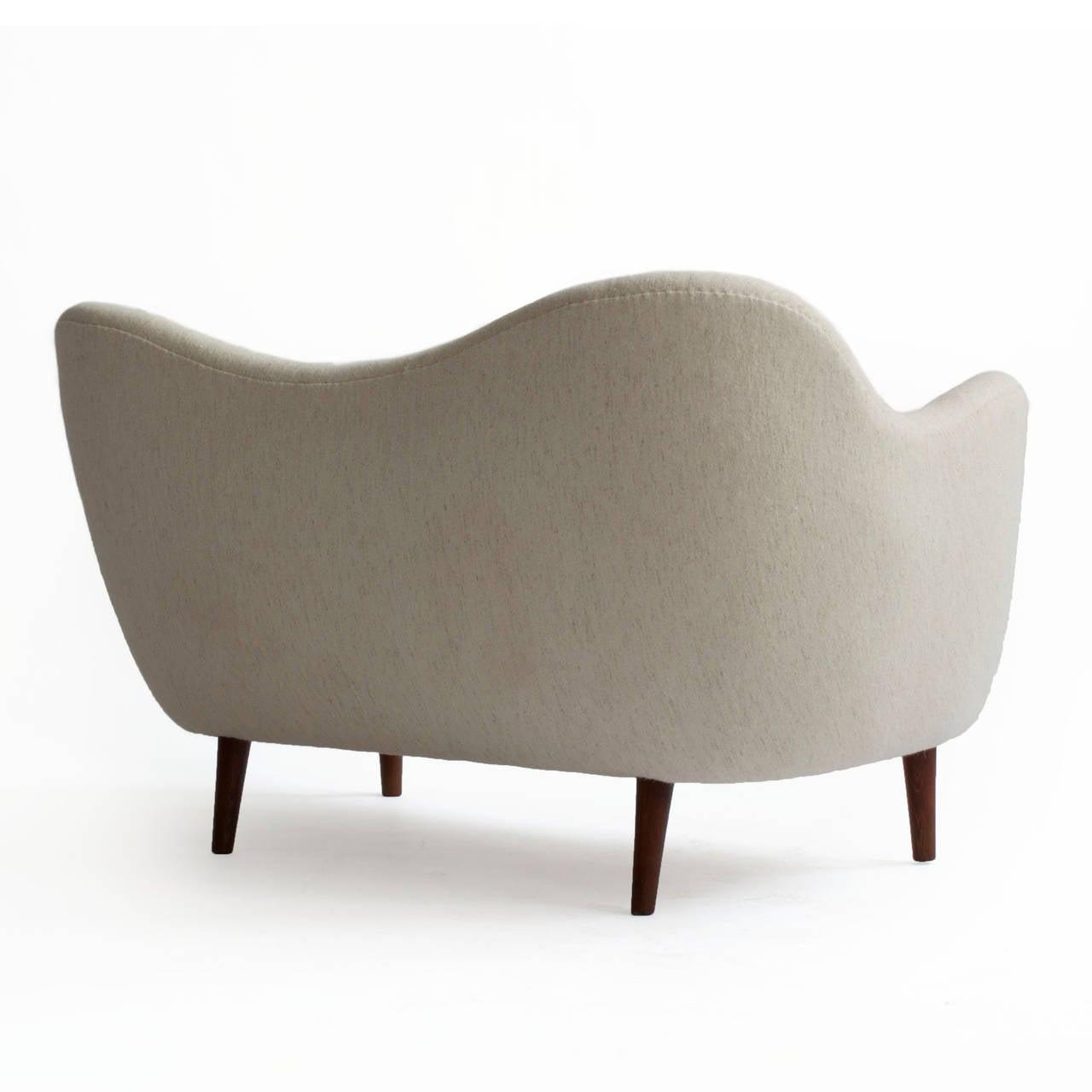 finn juhl poet sofa sale bergamo grey sectional leather bo46 bovirke at 1stdibs