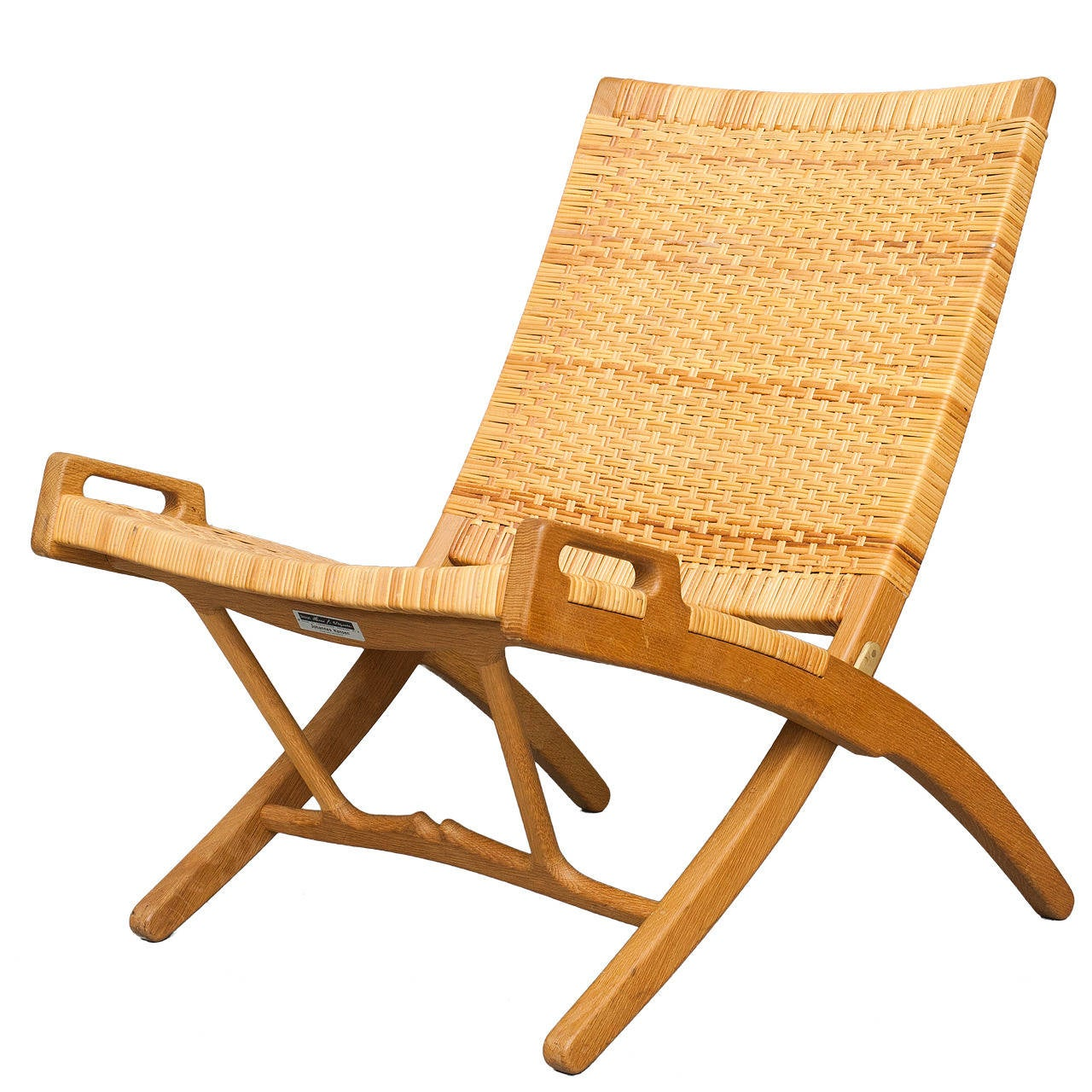 Hans Wegner Folding Chair Folding Chair By Hans J Wegner For Johannes Hansen At 1stdibs
