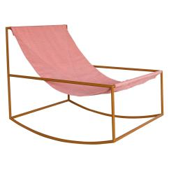 Folding Van Chair Hyperextension Roman Muller Severen Rocking At 1stdibs