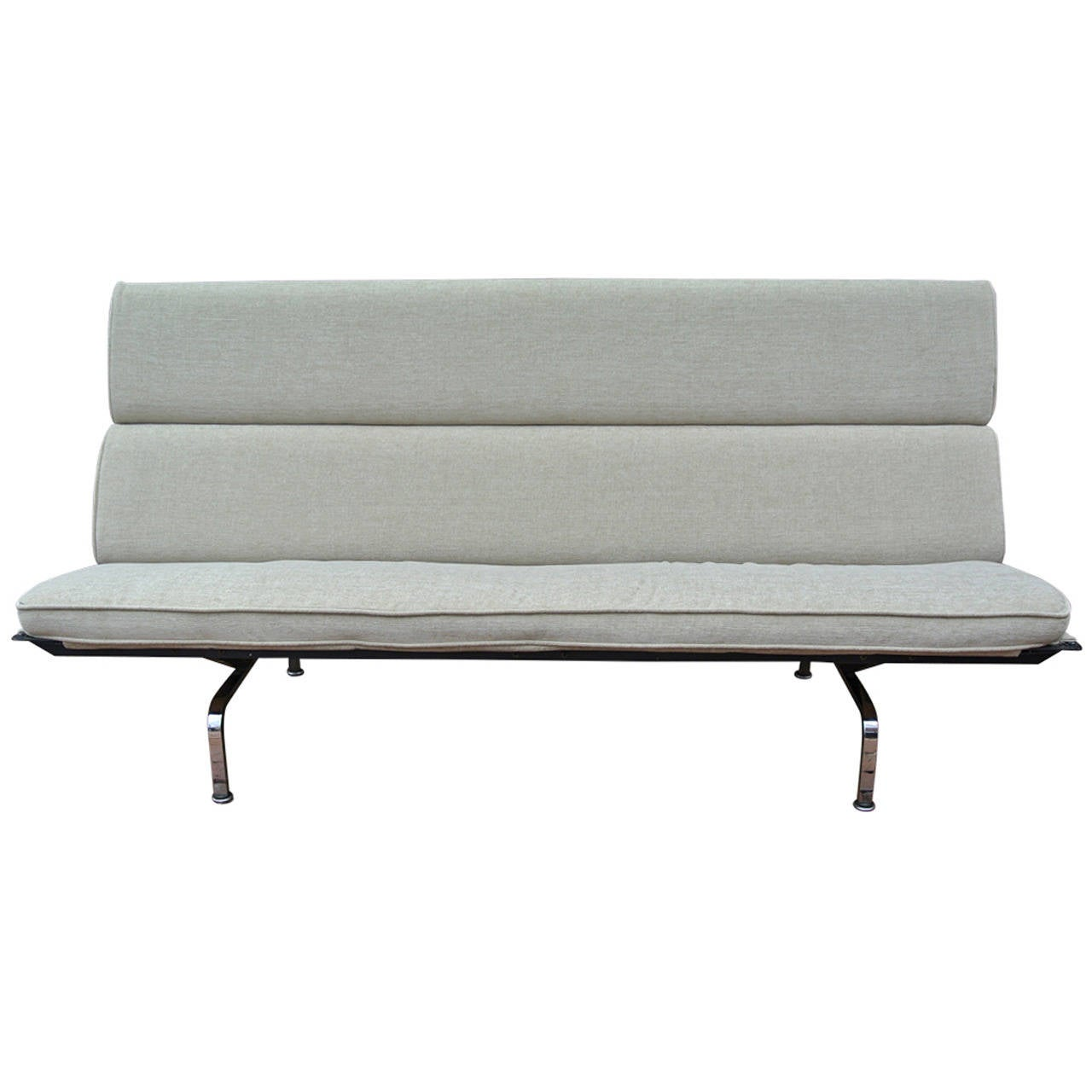 eames sofa compact furniture of america mazri 2 piece bonded leather and loveseat set early by herman miller for sale at 1stdibs charles