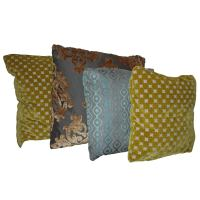 New Pillows in French Vintage Pattern Fabric For Sale at ...