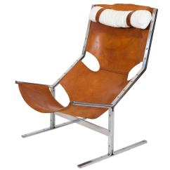 Steel Lounge Chair Cushions For Dining Chairs Nz Ap Originals Leather And At 1stdibs