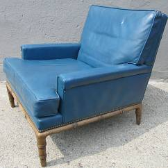 Leather Chairs For Sale Chair Steel Hs Code Blue Club By Erwin Lambeth At 1stdibs