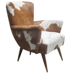 Cowhide Chairs Modern Wicker High Back Chair Pair Of Modernist Italian At 1stdibs