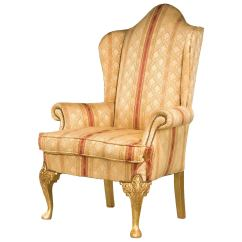 Wingback Chair For Sale Covers New Year 19th Century Giltwood Wing At 1stdibs
